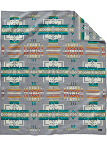ペンドルトン-ブランケットローブフルサイズチーフジョセフ柄