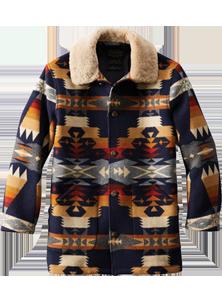 ペンドルトン-ブラウンズビルシェアリングカラーコート