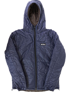 ワイルドシングス-リバーシブルプリマロフトフーデッドジャケット